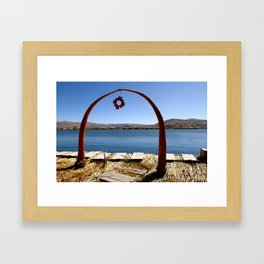 Gate to Uros  Framed Art Print