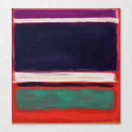 Rothko Inspired #12 Canvas Print