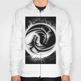 Yin and Yang Dragons Hoody