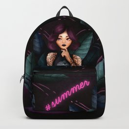 Neon Summer Backpack