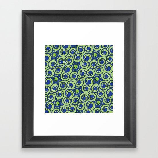 Pattern C Framed Art Print