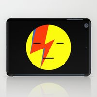 emoji iPad Cases featuring bowie emoji by Rue du chat qui peche