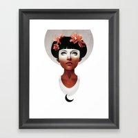 Hyperdusk II Framed Art Print