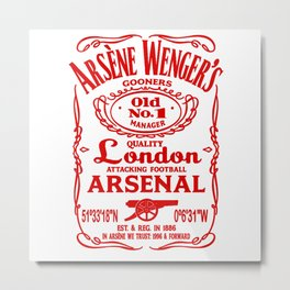 arsene wenger arsenal Metal Print
