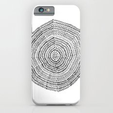 Vacancy Zine Mandala I B&W Slim Case iPhone 6s