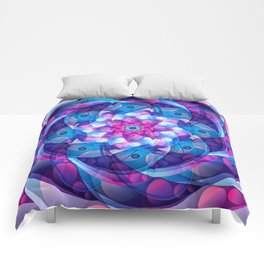Vector Colorful Design Comforters