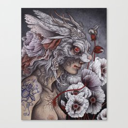 Inconsolable  Canvas Print