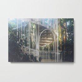 Dreamy Spiral Staircase Metal Print