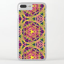 Love Threads Clear iPhone Case