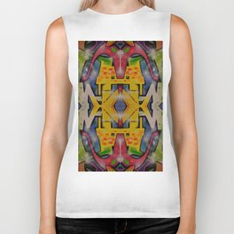 Abstract graffiti 2 Biker Tank