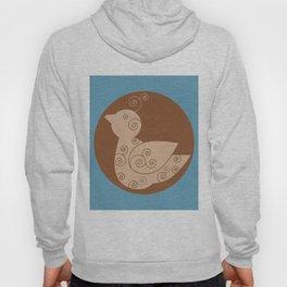 Spiral Bird Hoody