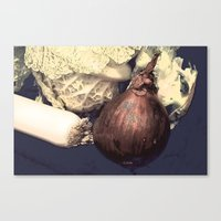 vegetable Canvas Prints featuring Vegetable by LoRo  Art & Pictures