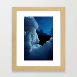 Snowed in #1 #art #society6 Framed Art Print