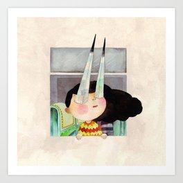 Matalas ang mata (Sharp-eyed) Art Print