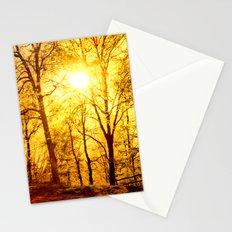 Soft sunset Stationery Cards