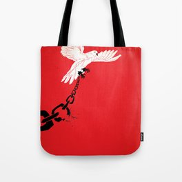 "Glue Network Print Series ""Justice & Freedom"" Tote Bag"