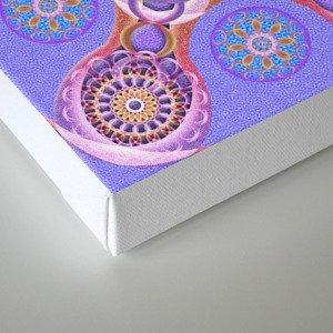 Royal Seal Mandala Canvas Print