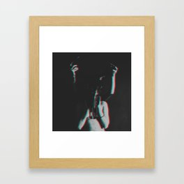 she's not alone anymore Framed Art Print