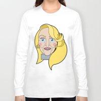 ashton irwin Long Sleeve T-shirts featuring Madeline Ashton by mattiaBAUvegni