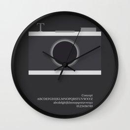 PHOTO - FontLove Wall Clock