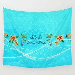 Aloha Beaches Wall Tapestry