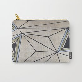 Geometric Study on Wood Carry-All Pouch