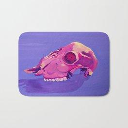 Purple Desert Skull Bath Mat