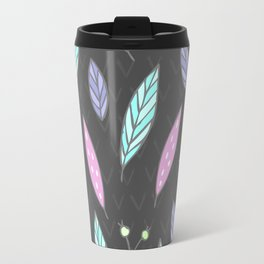 leaf pattern Travel Mug