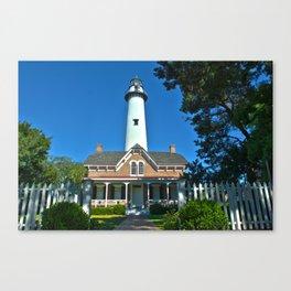 Saint Simons Lighthouse Canvas Print