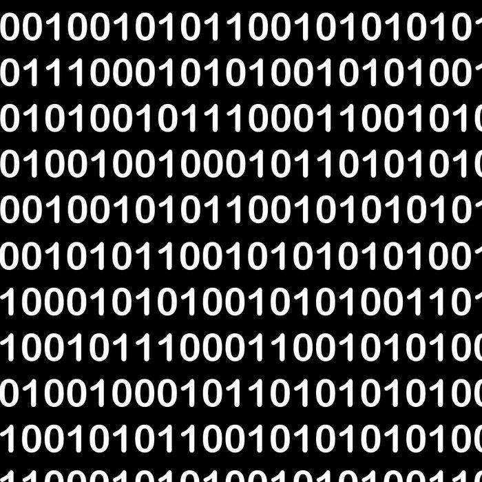 Binary Code in DOS Leggings