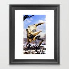 Winter Walker. 2167.  Framed Art Print