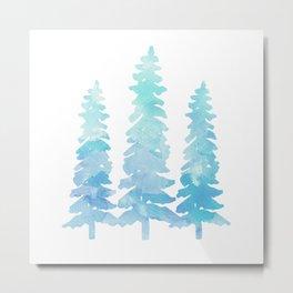 Tahoe Trees  Metal Print
