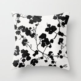 Spring on grey days Throw Pillow