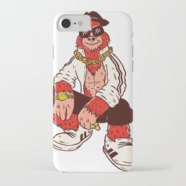 Bigfoot Hip Hop iPhone Case