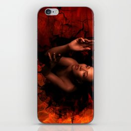 LURES OF THE BLACK HOLE iPhone Skin