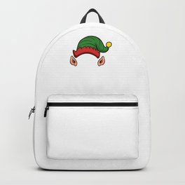 Elf Squad Funny Christmas Gift Holiday Season Backpack
