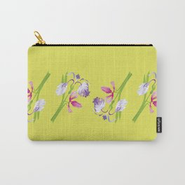 Beautiful Spring Irises Carry-All Pouch