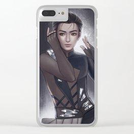 Yuri Katsuki Clear iPhone Case