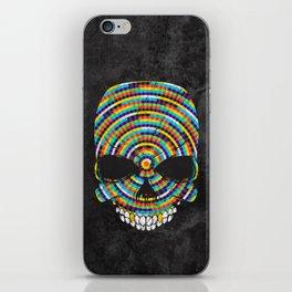 Hypnotic Skull iPhone Skin
