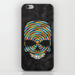 Hypnotic Skull iPhone Skin