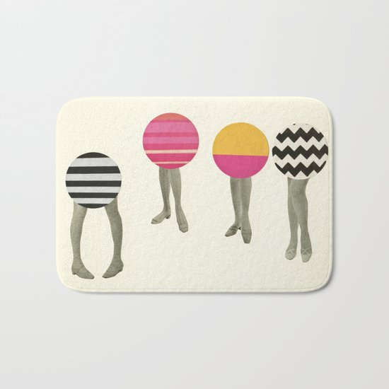 Dancing Feet Bath Mat