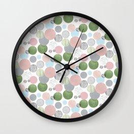 Neutral Circles Wall Clock