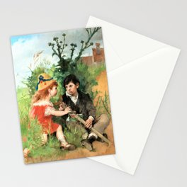 Light Shadow - Carl Larsson Stationery Cards
