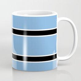 Abstraction from the flag of bostwana-kalahari,gaborone,batswana,motswana,tswana,kalanga Coffee Mug