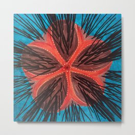 Fire Urchin Metal Print