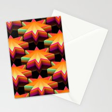 Star Disco Floor Stationery Cards