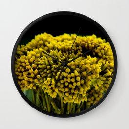 curry flower Wall Clock