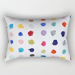Polka Daubs Rectangular Pillow
