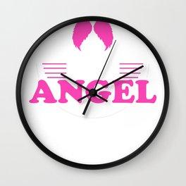 Baby Gift Devil Angel Little Birth Child Wall Clock