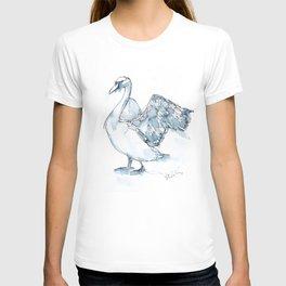 Swan, Wings T-shirt